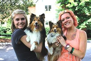Dog Moms Kirsten and Jennah
