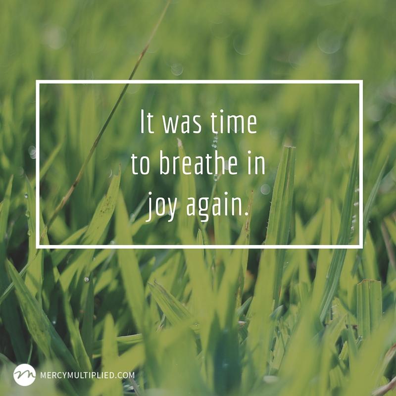 Breathe in Joy   MercyMultipliedBlog.com
