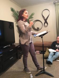 Lindsey Bussey teaching