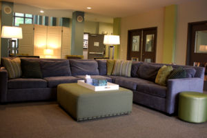 Nashville Mercy Home living area redesign