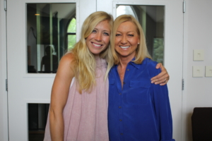 Nancy Alcorn and Ellie Holcomb