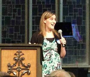 2004 Mercy grad Lyndsey sharing her journey to freedom