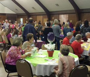 A full house to support Mercy Monroe