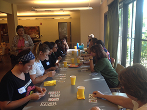 Each winner of Playing Card Bingo won a gift card donated by the Active Adult Ministry at Destiny Church.