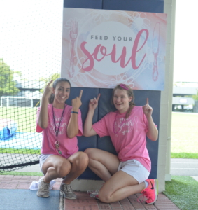 Kendall (r.) organized the Feed Your Soul Event, raising over $25,000.