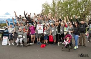 Team representing Destiny Community Center at Run for Mercy (Roseville, CA 2017)