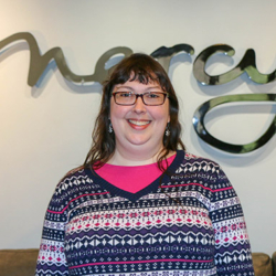 Mercy donor Stephanie Cobb