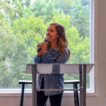 Mercy Graduate Catherine Shares Her Story with Nashville Residents