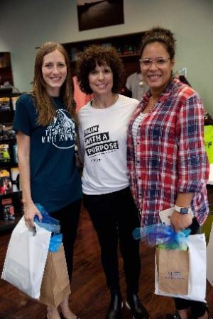 Mercy Graduates Jan and Tasha with Monroe, LA Community Relations Manager, Caronda Williams