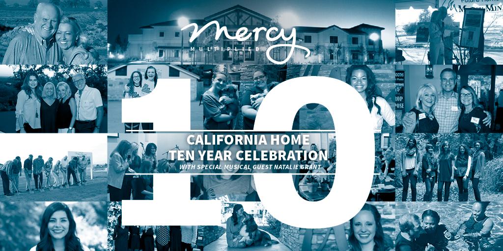 Mercy Multiplied California Home Ten Year Celebration