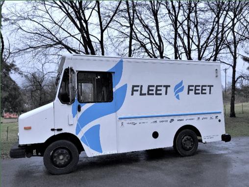 Fleet Feet Truck